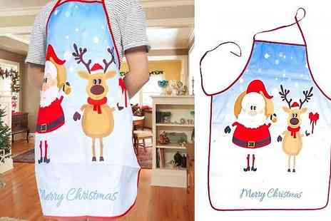 Spezzeee - Cute Christmas Apron Choose from 6 Designs - Save 53%