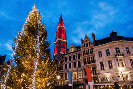 Worldwide Tours and Travel - Two nights Antwerp Christmas market break with return Eurostar - Save 21%