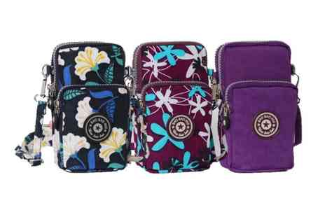 HONGKONG HUALIANDA - Cross body mobile phone shoulder bag choose from nine colours - Save 75%