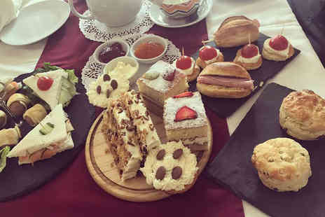 Cafe Cafe - Afternoon tea for two tuck into delicious sweet treats - Save 50%