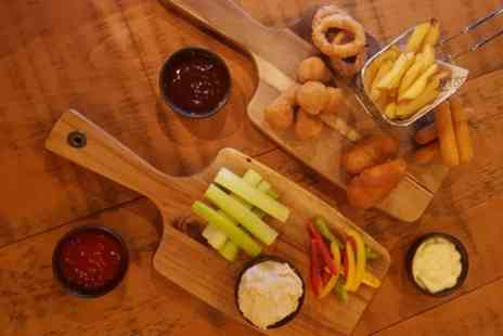 The Corner House - Sharing Platter with Bottle of Prosecco for Two - Save 57%
