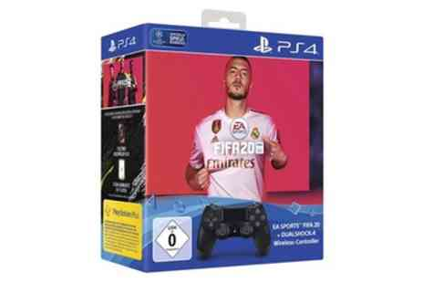 Groupon Goods Global GmbH - Sony PS4 Dualshock Controller with FIFA 20 Set With Free Delivery - Save 0%