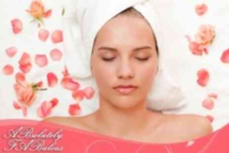 ABsolutely FABulous - 100 MinutesBeauty Treatments With Choices Such as Manicure, Pedicure and 30 minute Facial - Save 70%