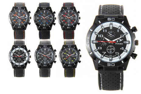 Secret Storz - Mens sports watch choose from six designs - Save 55%