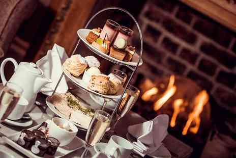 Horton Grange Hotel - Afternoon tea for two people Glass of Prosecco - Save 37%
