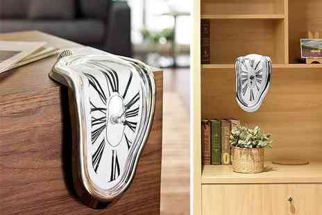 Suzhou Dashijie Electronics Co - Melting distorted wall clock - Save 73%
