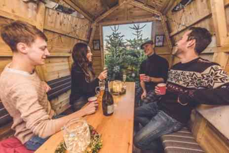Chelmsfords Christmas Apres Bar - Christmas Chalet Hire with Mulled Wine or Prosecco for Up to Ten - Save 0%