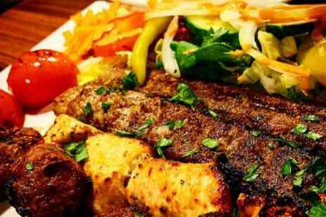 Caspian - Two Course Persian Meal for Two or Four - Save 26%