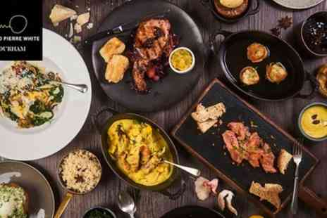 Marco Pierre White Steakhouse Bar & Grill - Three Course Festive Lunch for Two - Save 49%
