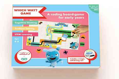 Okido - Okidos Which Way? Game Introduce Kids to Coding with Fun and Adventure Plus Free Delivery - Save 26%