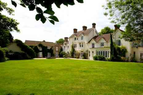 Esseborne Manor - One Night for Two with Breakfast, Three Course Dinner and Tea and Scones - Save 0%