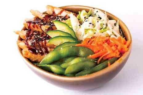 Tropical Sushi - Choice of Poke Bowl with Soft or Hot Drink for One or Two - Save 36%