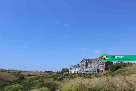 Housel Bay Hotel - Two nights Lizard Peninsula stay for two people with breakfast, cream tea and late check out - Save 60%