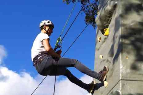 Action Adventure Activities - Climbing and Abseiling Experience for Up to Four - Save 56%