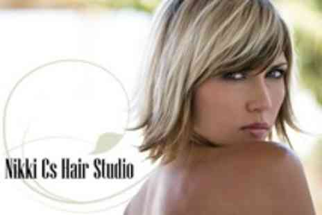 Nikki Cs Hair Studio - Half Head Highlights With Cut, Conditioning Treatment and Finish - Save 64%