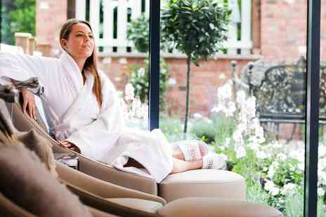 Macdonald Craxton Wood Spa - Spa day with massage, facial and cream tea in Cheshire - Save 0%