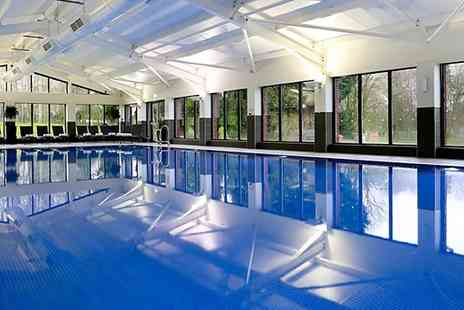MacDonald Hill Valley - Shropshire spa day with treatments, cream tea and bubbly - Save 0%