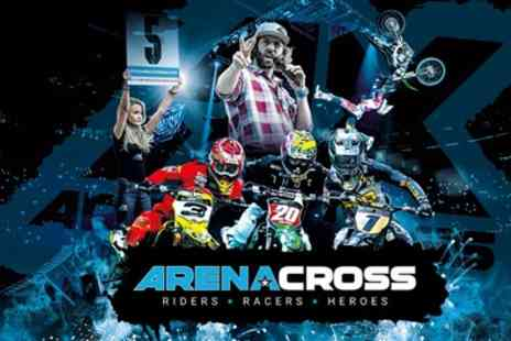 Arenacross Tour - One child or adult ticket from 17th January To 22nd February - Save 25%