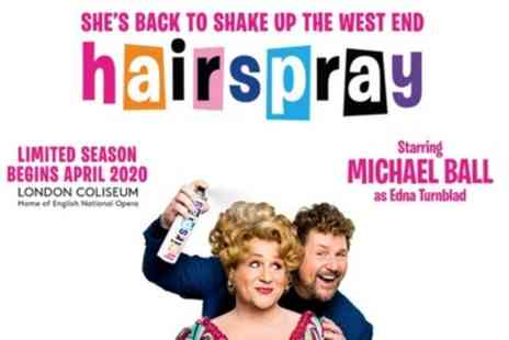 London Coliseum - Tickets to see Hairspray - Save 0%
