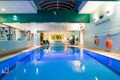 Mercure Ayr Hotel - Overnight stay for two people with a bottle of wine on arrival, leisure access and breakfast - Save 28%