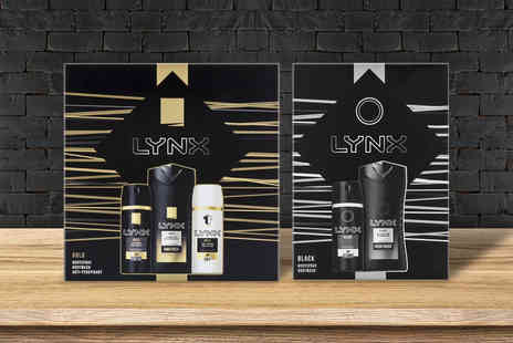 Avant Garde - Lynx two pack gift set bundle - Save 76%