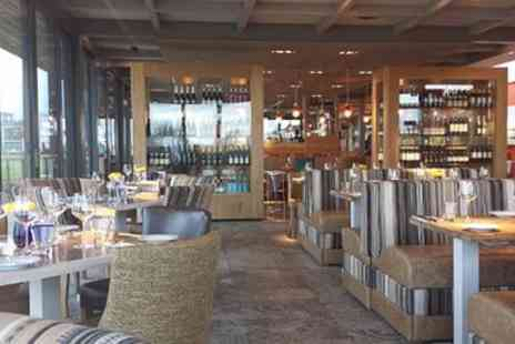 The Greenhouse Restaurant - Fish and Chips or Cheeseburger with Wine for Two or Four - Save 56%