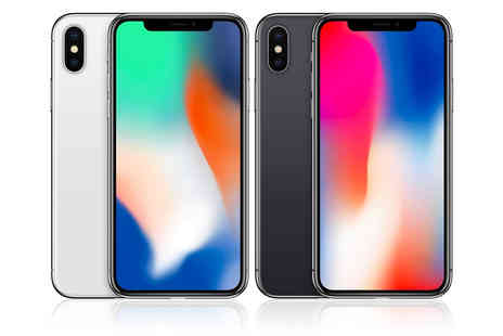 Bright Gadget - Refurbished Apple iPhone X choose between silver and space grey - Save 47%