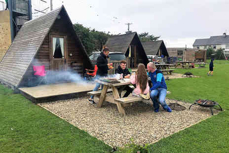 Carrowmena Activity Centre - Two nights glamping pod stay with breakfast, a bottle of Prosecco and a camp fire kit - Save 25%
