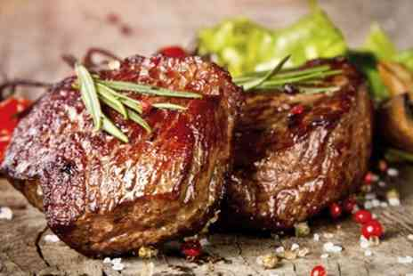 The Rosehip - Main Meal of Choice Including Sirloin or Rib eye Steak for Two or Four - Save 50%