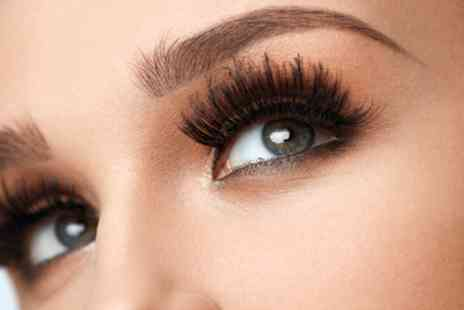 Better Than Nude - Hybrid or Volume Eyelash Extensions with Optional Eyebrow Wax and Tint - Save 56%