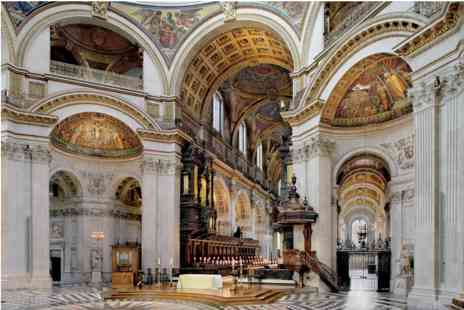 St. Pauls Cathedral - Visit with Sparkling Wine Afternoon Tea for Two - Save 0%