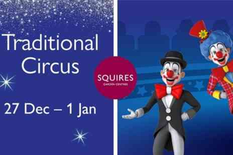 Traditional Circus - One ticket from 27th December 2019 To 1st January 2020 - Save 30%