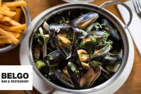 Belgo - Two or Three Course Meal for Two - Save 50%