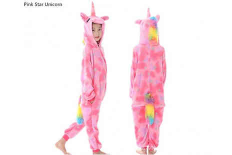 MBLogic - Unicorn Onesie Choose from 3 Colours and 3 Sizes - Save 70%