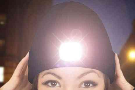 Groupon Goods Global GmbH - Rechargeable Five Led Beanie Hat - Save 69%