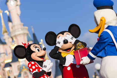 Super Escapes Travel - Two nights Disneyland Paris break with return flights or Eurostar - Save 27%
