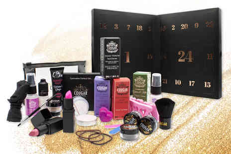 Cougar - 24 piece beauty advent calendar - Save 55%