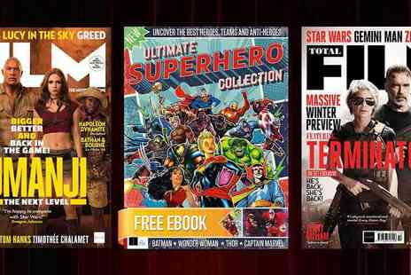 Future Publishing - Total Film Annual Subscription Calling All Film Buffs Free Ebook - Save 46%