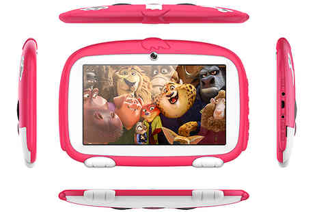 J Star UK - 7 Inch Kids SmartPad Lite Android 4.4 Tablet choose from 2 Colours - Save 78%