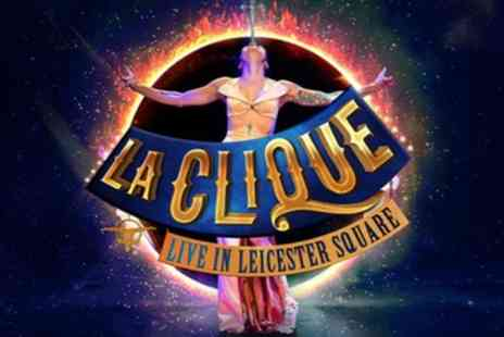 Leicester Square Spiegeltent - Tickets to see La Clique - Save 0%