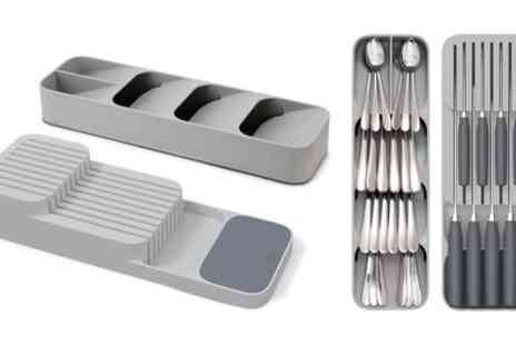 Groupon Goods Global GmbH - One or Two Joseph Joseph DrawerStore Knife and Cutlery Organisers - Save 37%