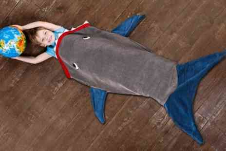 Groupon Goods Global GmbH - One or Two Childrens Shark Blankets - Save 0%