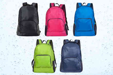 My Brand Logic - Waterproof foldable backpack choose your colour - Save 60%
