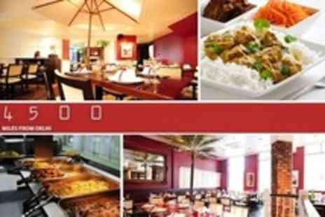 4500 Miles from Delhi - All You Can Eat Three Course Indian Buffet For Two - Save 50%