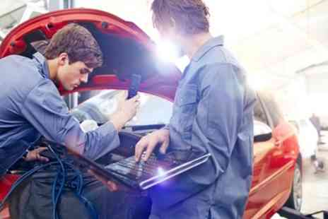 Queen Adelaide Garage - Mot Test or 66 Point Car Service - Save 52%