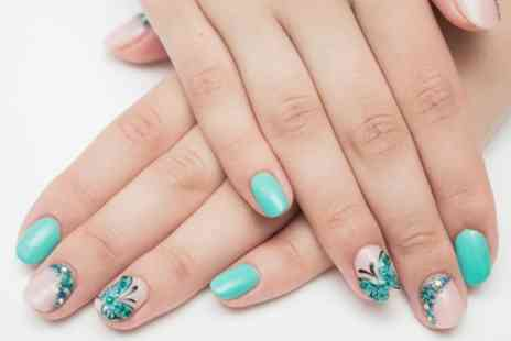 Mint Beauty Salon - Gel File and Polish for Hands or Feet or Both - Save 51%