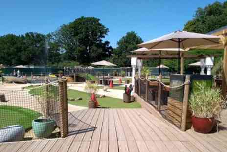 Tidal Bay Adventure Golf - Crazy Adventure Golf for Up to Two Adults and Three Children - Save 34%