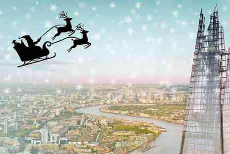 Shard Viewing Gallery Management - Exclusive Christmas Themed Entry to The View Santa in the Sky, Festive Fun and Face Painting - Save 20%