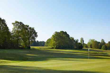 Lingfield Park Marriott Hotel - 18 holes of golf and refreshment for Two - Save 50%