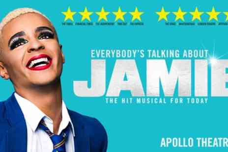 Apollo Theatre - Tickets to see Everybodys Talking About Jamie - Save 0%